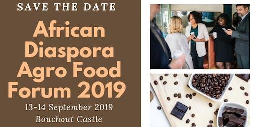 African Diaspora Agrofood Forum 2019 (ADAF 2019)