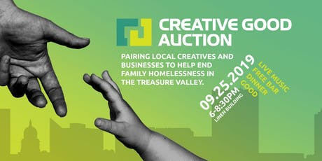 Creative Good Auction (Sept 25) = AUCTION | DINNER | DRINKS | GOOD tickets