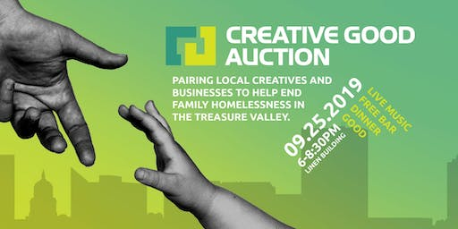 Creative Good Auction (Sept 25) = AUCTION | DINNER | DRINKS | GOOD