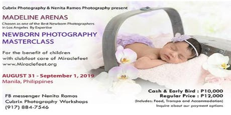 Newborn Photography Masterclass tickets