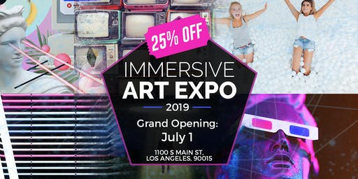 Immersive Art Expo - Event canceled - all refunds will be provided until the end of this month.