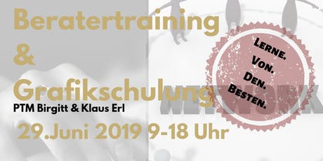 Beratertraining & Grafikschulung Tickets
