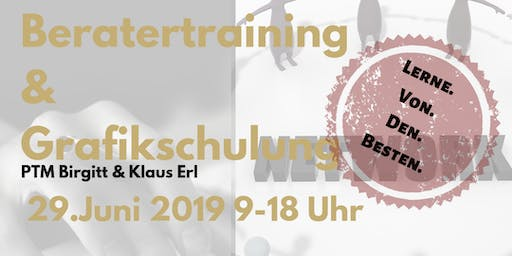 Beratertraining & Grafikschulung