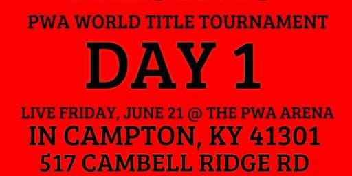 PWA World Title Tournament Day 1