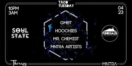 Techno Taco Tuesday @ Relapse Nightclub at Therapy tickets