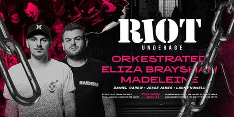 Two Years of Riot Underage| Thursday 11th July 2019 tickets