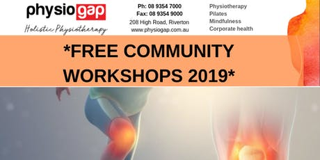 Free Community Workshops - Tips for Natural Pain Management tickets