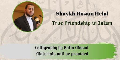 Be Inspired - Tarbiyyah Session Sh. Hosam & Calligraphy Boys/Girls 9-13