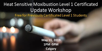 Heat Sensitive Moxibustion Level 1 Update Workshop  热敏灸进阶研讨会