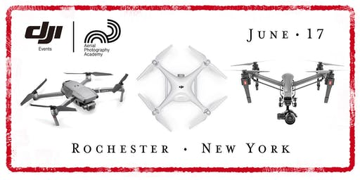 DJI Drone Photo Academy – Rochester, New York