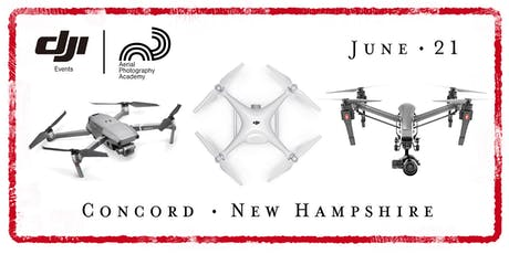 DJI Drone Photo Academy – Concord, New Hampshire tickets