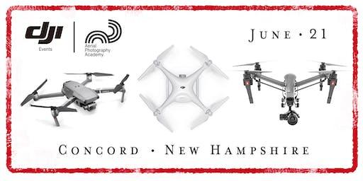 DJI Drone Photo Academy – Concord, New Hampshire