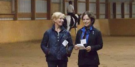 Kathy Connelly & Betsy Steiner  Adult Clinic: In-hand and Under-saddle tickets
