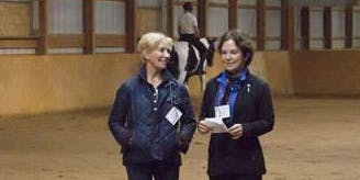 Kathy Connelly & Betsy Steiner  Adult Clinic: In-hand and Under-saddle