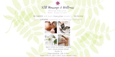 Massage Executive Meet, Greet & Earn