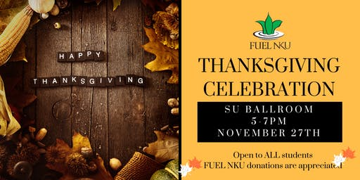 FUEL NKU Thanksgiving Dinner 2019