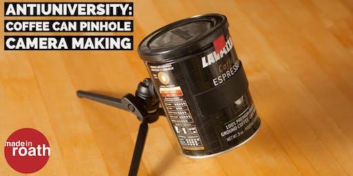 Antiuniversity: Coffee Can Pinhole Camera making