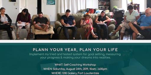 Plan Your Year, Plan Your Life | Self-Coaching Workshop