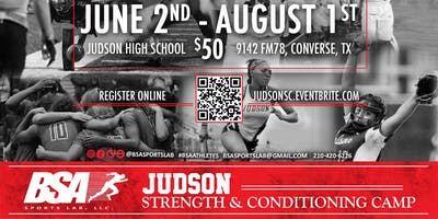 Judson High School Strength and Conditioning Program