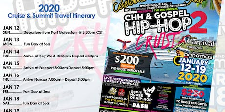 2nd Annual CHH & GHH Cruise & Summit  tickets