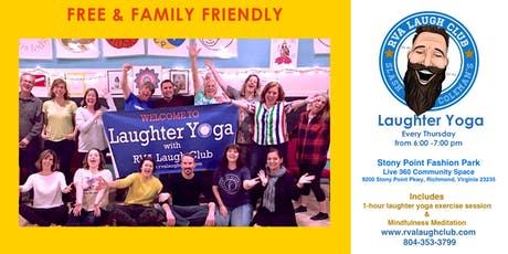 Free Thursday Laughter Yoga  tickets