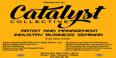 Catalyst Collective: Music Business Seminar