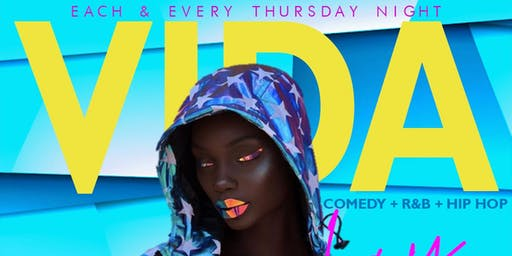 Vida Thursdays Comedy + Party