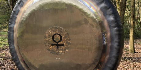 Outdoor Sound Bath Gong Bath in the Forest tickets