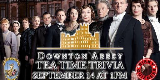 Downton Abbey Tea Time Trivia!