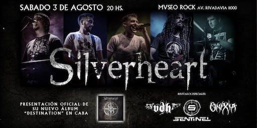 "Silverheart presenta ""Destination"" + VDH, Sentinel y Onixia"