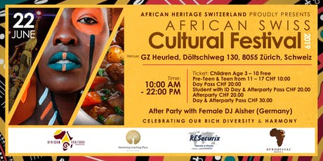 AFRICAN SWISS CULTURAL FESTIVAL  tickets