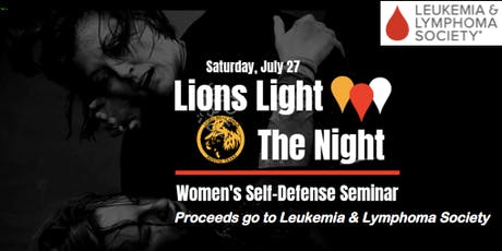 Lions Light the Night: Women's Self-Defense Seminar tickets