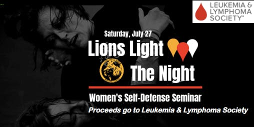Lions Light the Night: Women's Self-Defense Seminar