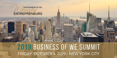 event image The Business of WE (Women Entrepreneurs) 2019 Summit