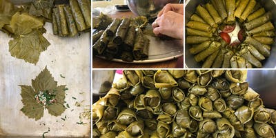 Wrap it Up! Learn to Make Yalanji - Syrian Stuffed Grape Leaves