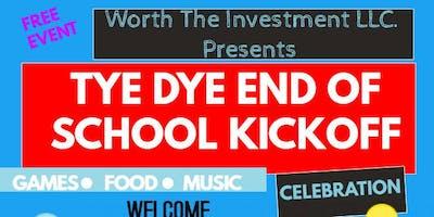 Tye Dye End Of School Kickoff