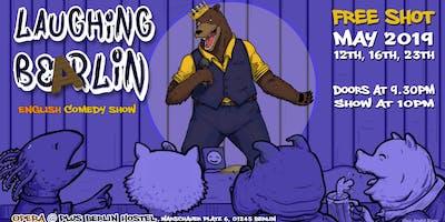 Laughing Bearlin - English Comedy Show w/ FREE SHOTS!