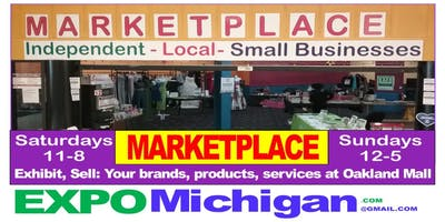 MARKETPLACE, Oakland Mall, crafters, direct sales, vendors 10 weekends $299