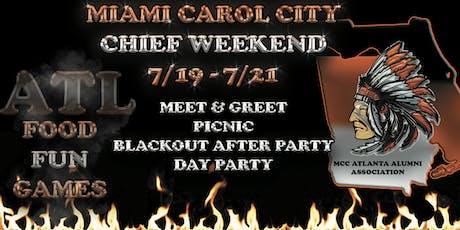 MCC Atlanta Chief Weekend tickets