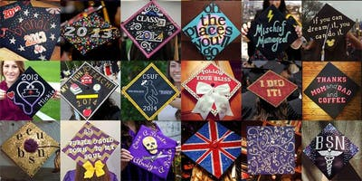 Crafty Party: Decorate Graduation Cap