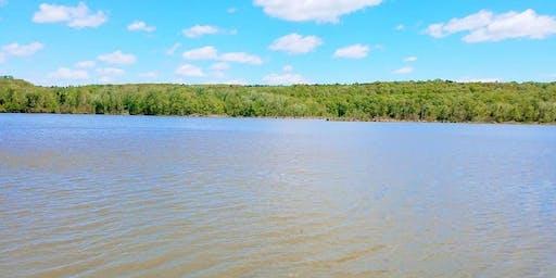 Canoe/Kayak Fishing Charleston City Lake (Franklin Co)
