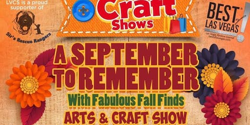 A September to Remember with Fabulous Fall Finds Arts & Craft Show