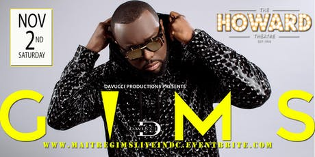 MAITRE GIMS LIVE IN DC  tickets