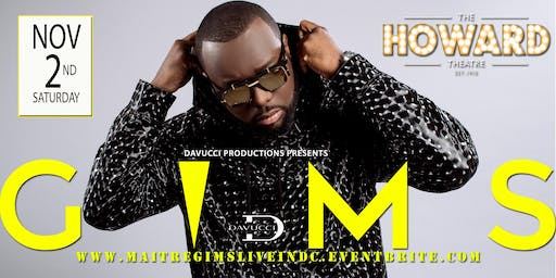 MAITRE GIMS LIVE IN DC