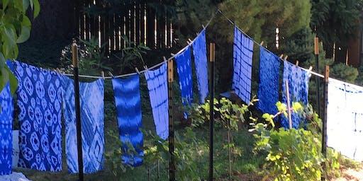Shibori (Indigo Tie Dye) Workshop with Connie Vincent