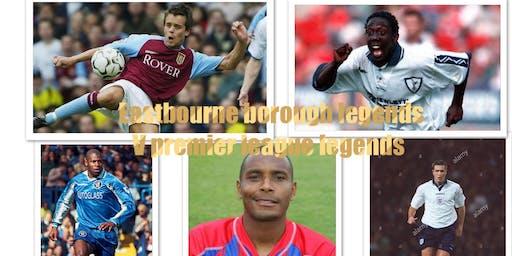 Eastbourne borough Legends V premier league legends