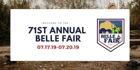 The 71st Annual Belle Fair tickets
