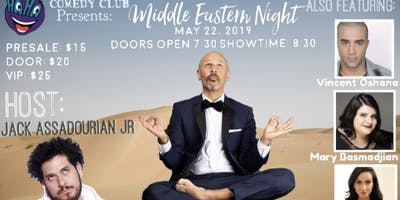MIDDLE EASTERN NIGHT WITH MAZ JOBRANI SPECIAL EVENT