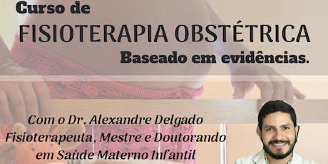 Curso de Fisioterapia Obstétrica baseado em evidências. ingressos