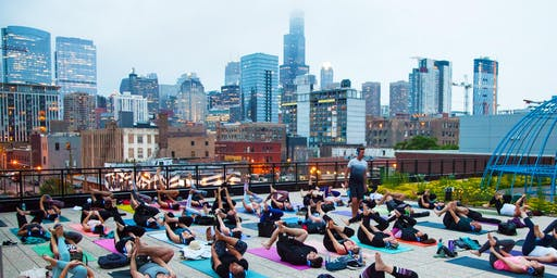 Bender CHI // Sunset Yoga at Ace Hotel